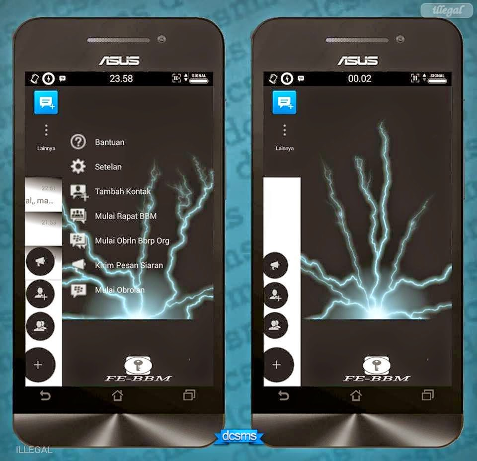 Download BBM Mod FLOATING MINI v2.7.0.23 Apk