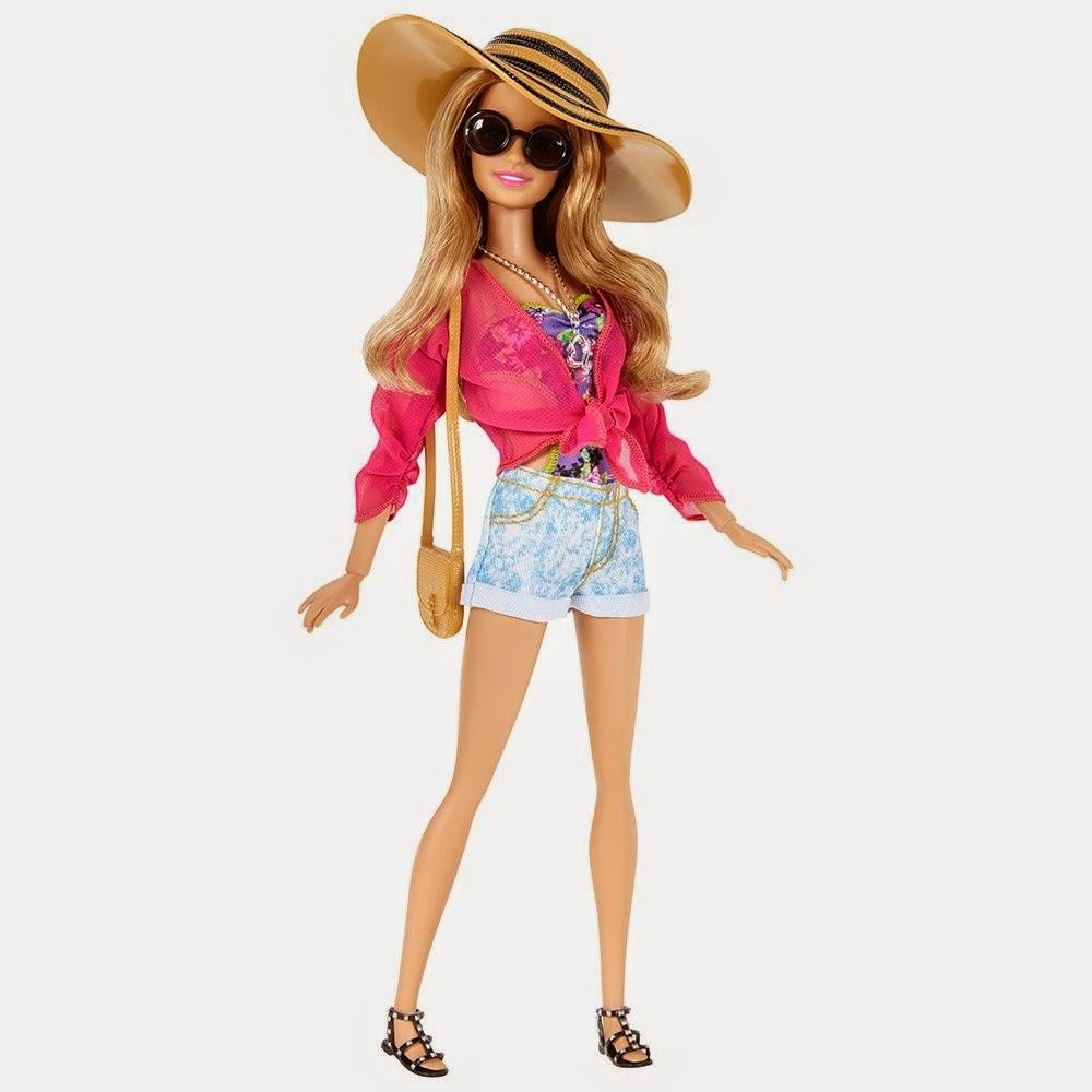 Ken Doll Barbie Style Glam Vacation Pandas Princess Power 2015