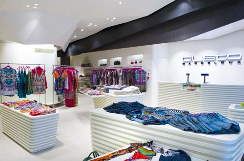 Custo Barcelona's first store in the UK by Dear Design