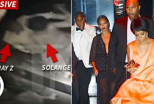 BOMBA: Jay-Z leva porrada de Solange Knowles, irmã de Beyoncé
