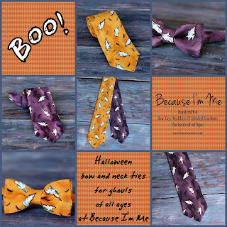 Ghoulish bow and neck ties!