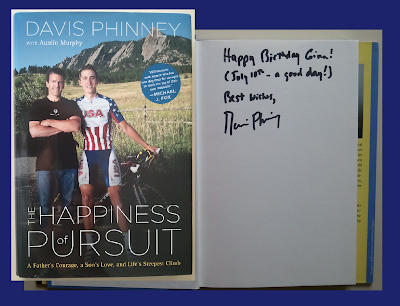 DavisBookCover3 Just Another Tuesday: A Gift to Davis Phinney