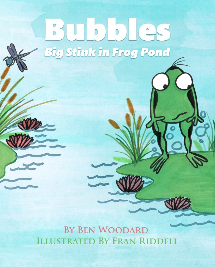Book Review Blitz: Bubbles, Big Stink in Frog Pond