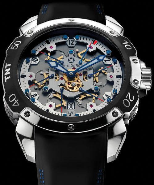 Les montres sortant de l'ordinaire Pierre+de+Roche+TNT+Royal+Retro+RB