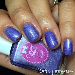 swatch of a lilac you mean it nail polish by cupcake polish