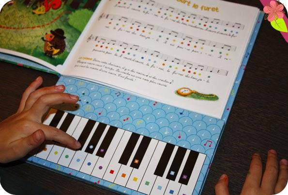Mon premier livre de piano de Emilie Collet et Sophie Rohrbach publié apr Gründ