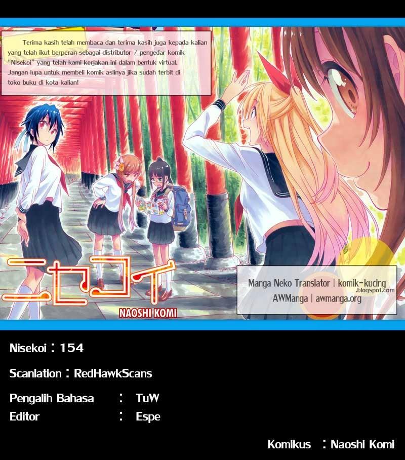Dilarang COPAS - situs resmi http://mangaku.web.id - Komik nisekoi 154 - gembira 155 Indonesia nisekoi 154 - gembira Terbaru 1|Baca Manga Komik Indonesia|Mangacan