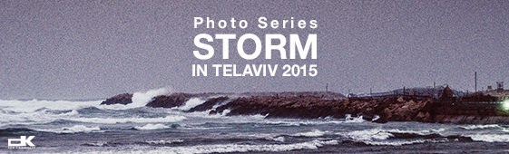 "Winter 2015 Photography ""STORM IN TEL AVIV"" By Denis Kravtsov"
