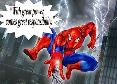 spiderman quote