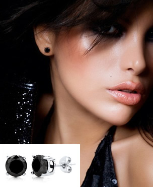 Black Diamond Earrings For Women A Must Have Any Woman