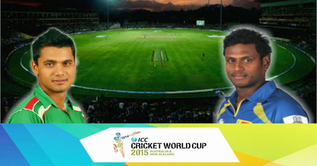 Match 18: Pool A, BAN vs SL 2015 ~ Cricket World Cup 2015