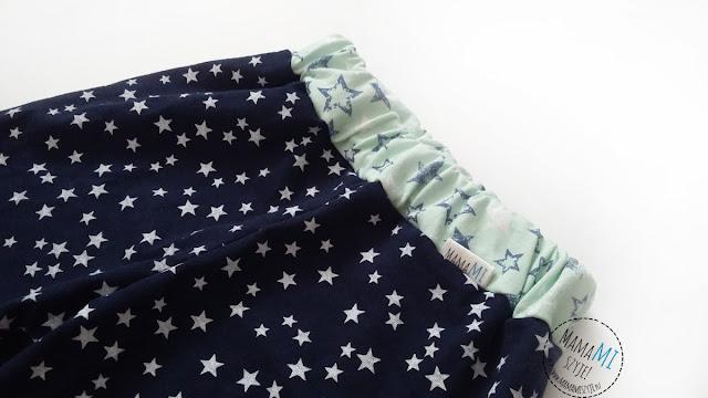 szycie prostych spodni dla dziecka, piżamka chłopięca