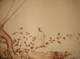 Sopla el poniente y al oriente se apilan, las hojas secas
