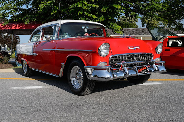 John and Theresa Shirley's 1955 Chevy