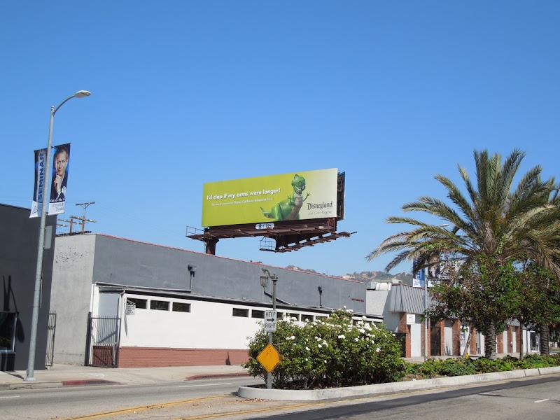 Disneyland Rex billboard