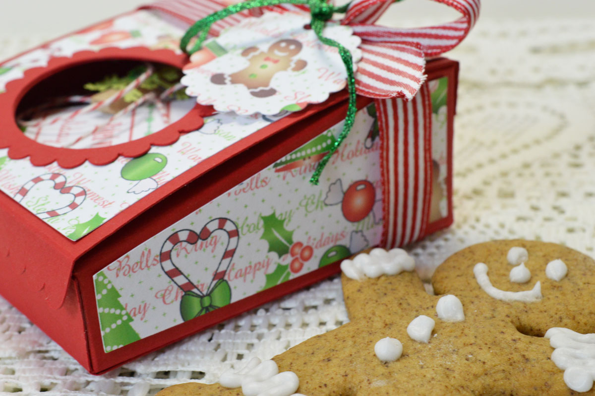 Lori Hairston: Christmas Cookie Box for My Time Made Easy