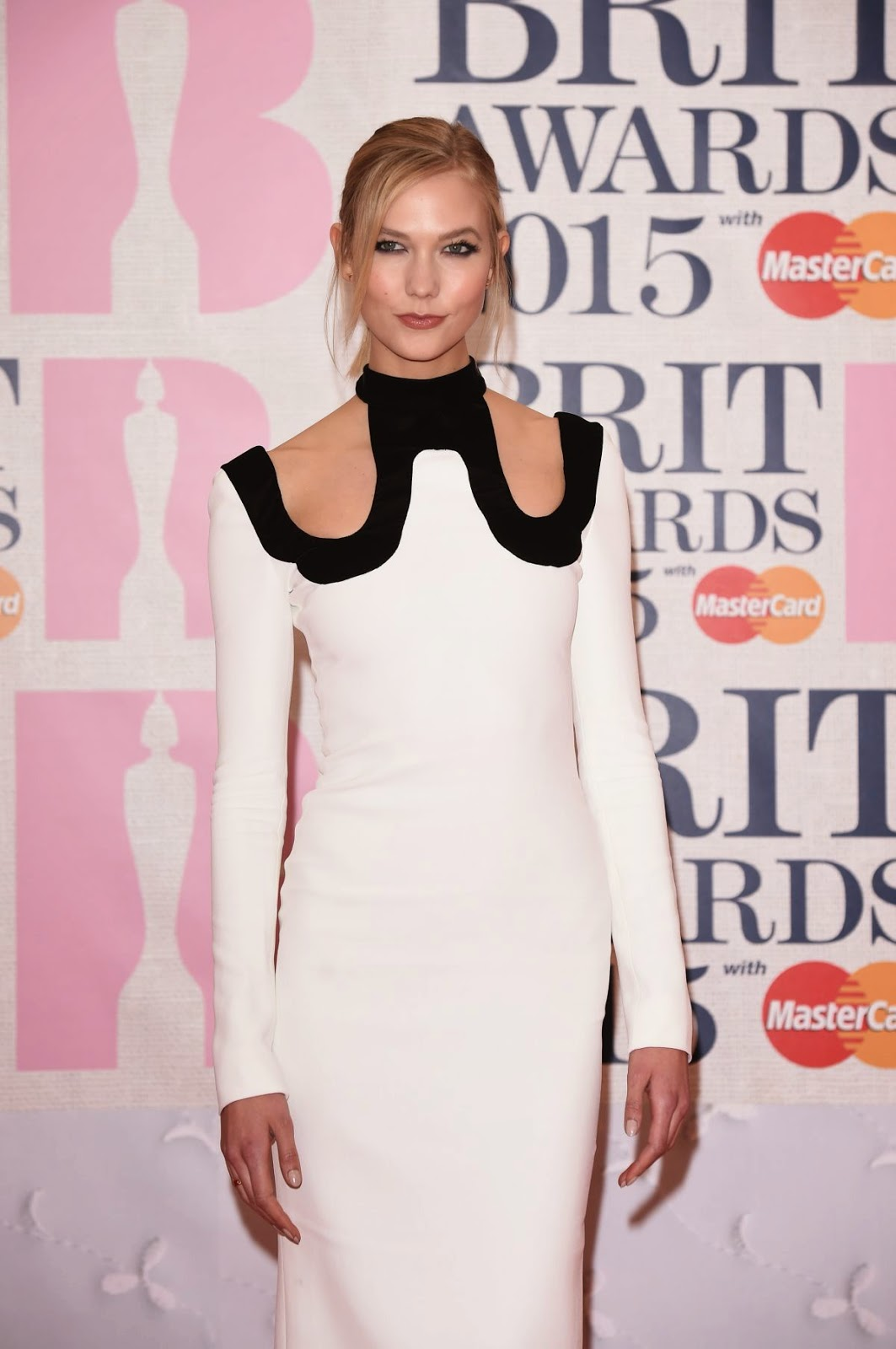 Fashion Model: Karlie Kloss - Brit Awards 2015 In London