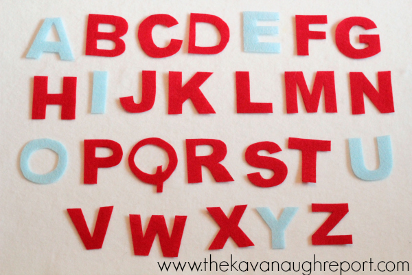 moveable alphabet, letters, montessori, preschool