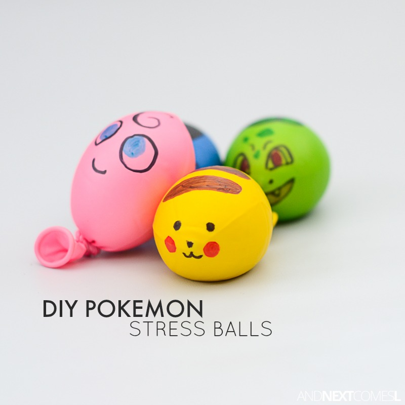 Watch How to Make a Balloon Stress Ball video
