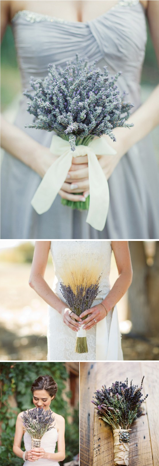 Lavender bridal bouquet in Flowers  Plants - Compare Prices, Read