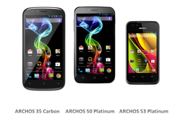 Archos se adentra en el mercado de los smartphones Android