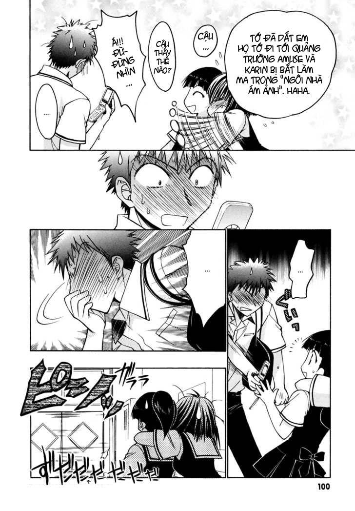 Karin - Chibi Vampire Chap 18 - Next Chap 19