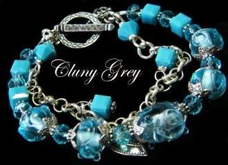 lampwork bracelet