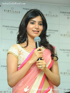 Samantha Hot Saree Pics
