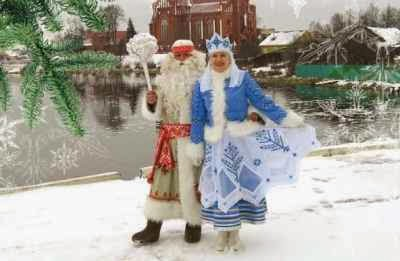 Aunty Agata in Belarus Winter Residence