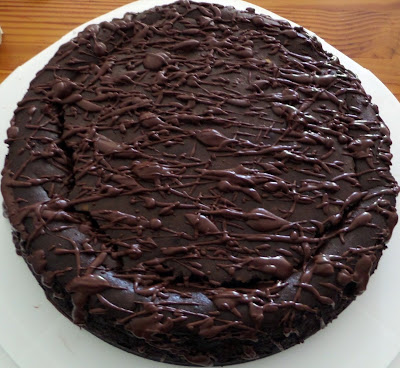 rich, dark chocolate cheese cake with a chocolate cookie crumb crust ...