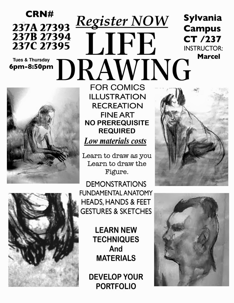 Life Drawing Registration!