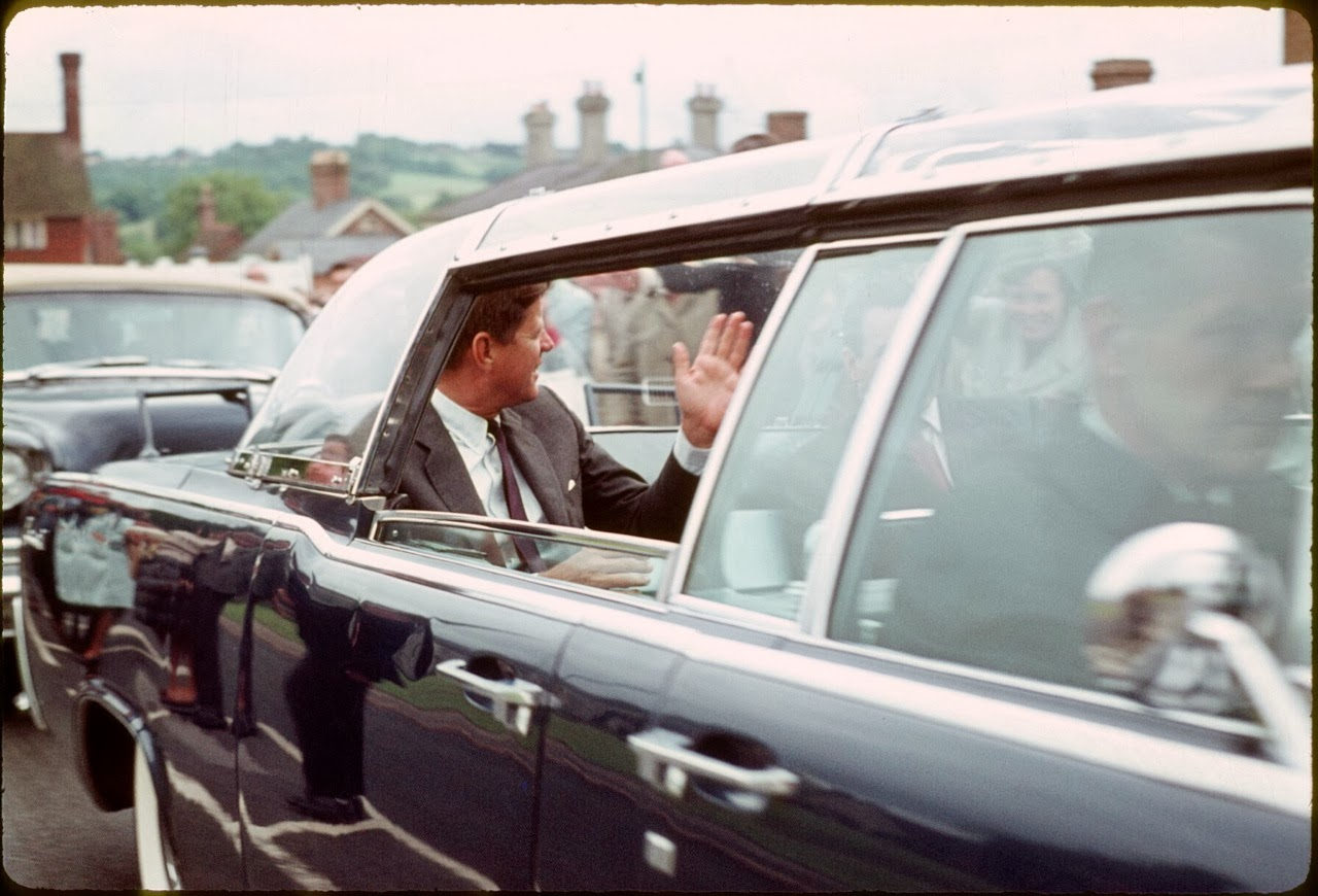 JFK June 1963 England