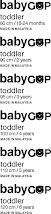 baby Gap Size