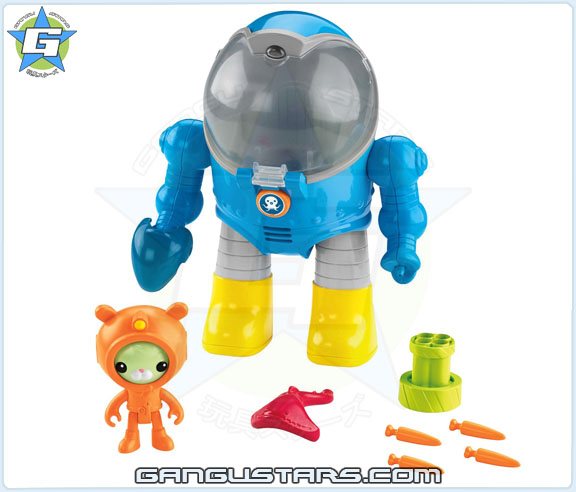 the Octonauts オクトノーツ Tweak's Octo Max Suit Fisher-Price toys トゥイーク