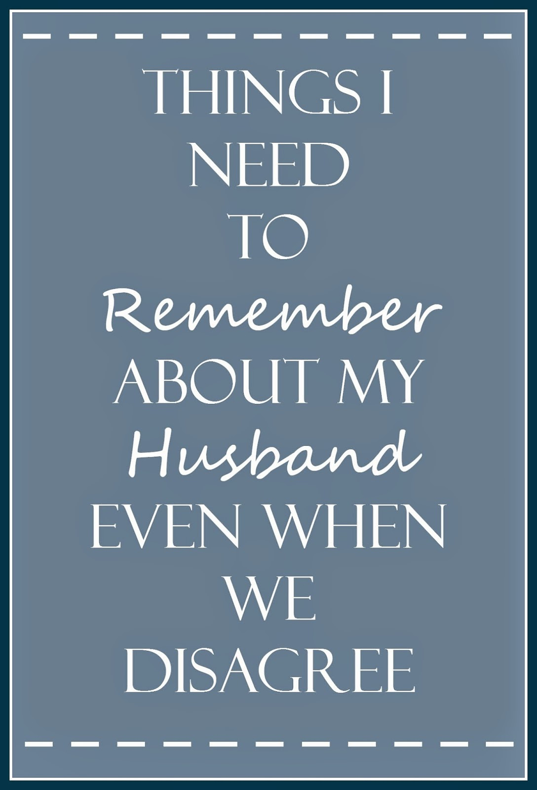 tips for handling disagreements in marriage