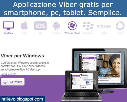 applicazione viber gratis