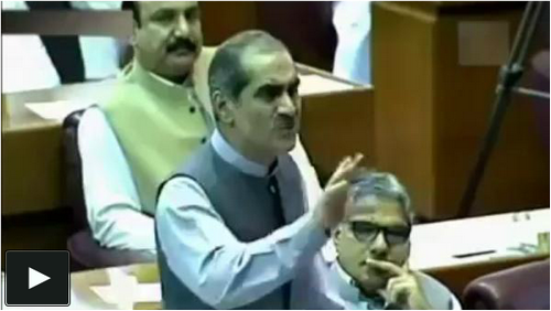 Tezabi Totay Khwaja Saad Rafique Parliament Speech