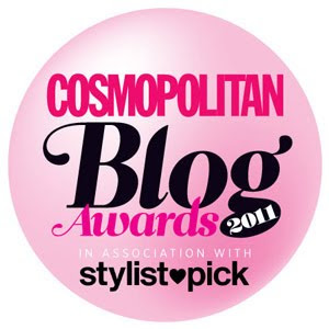 Shortlisted for Cosmo Blog Awards Best Established Fashion Blog 2011