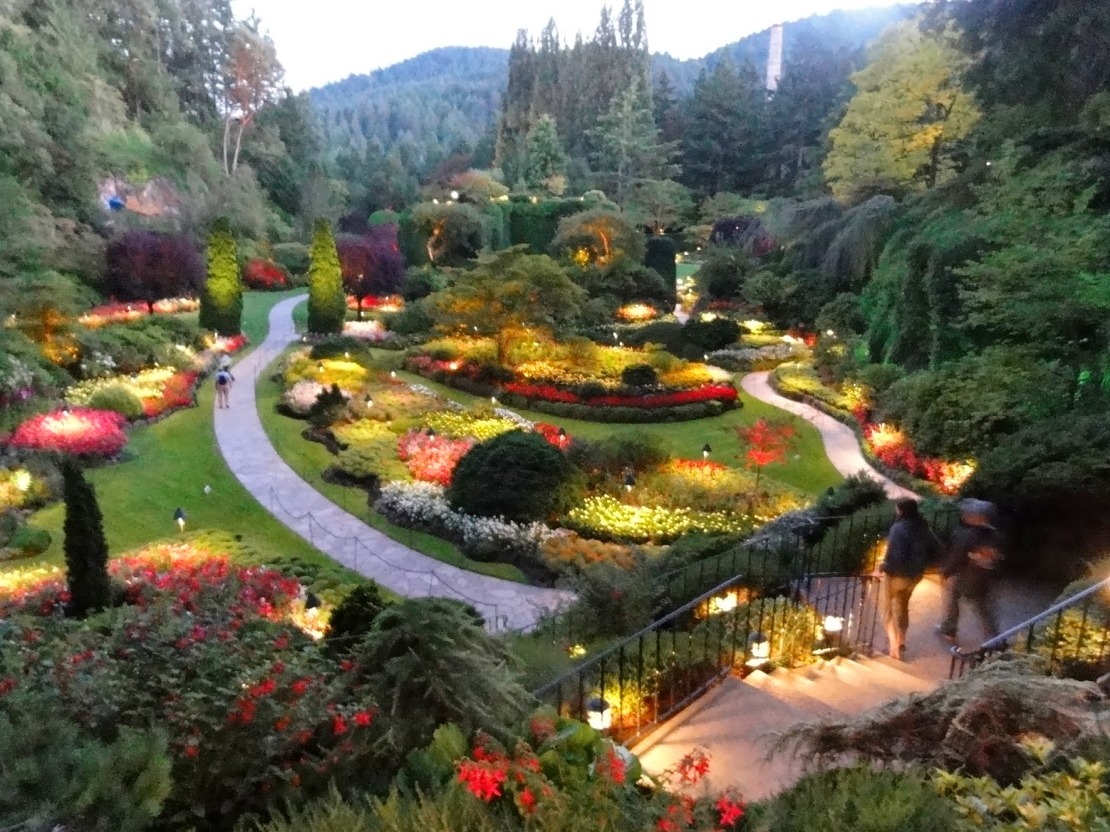Happy Home The Butchart Gardens