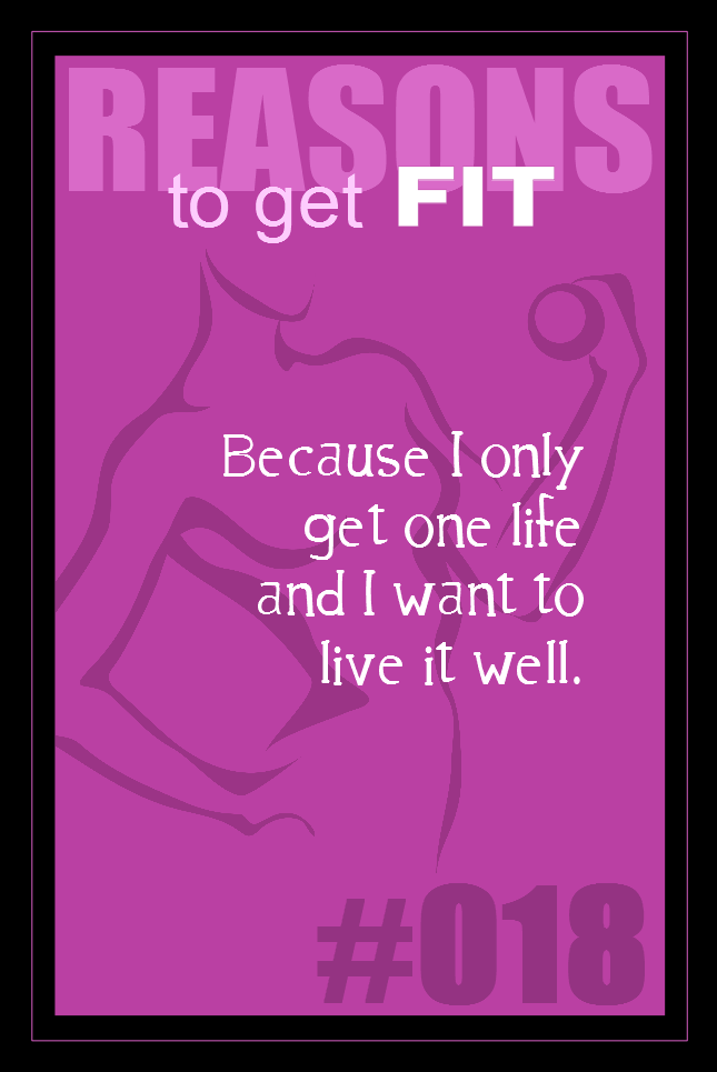 365 Reasons to Get Fit #018