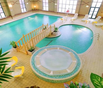The Best Indoor Swimming Pool Design Is Constructed Under Ground It Will Make More Natural And Strong