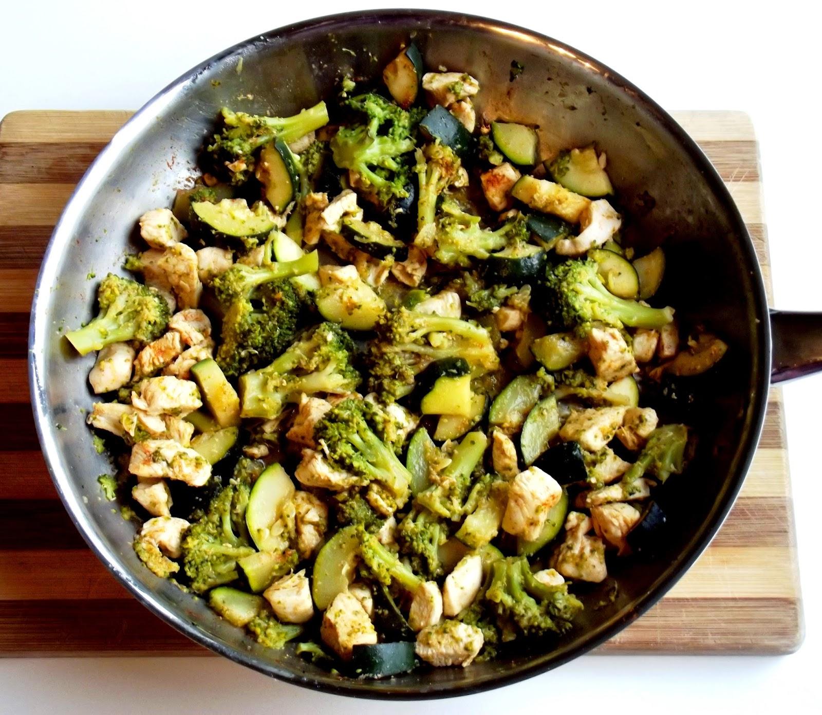 Jazzowe Smaki Dietetyczny Kurczak Z Brokulami I Cukinia