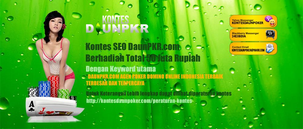 cara main DAUNPKR.com agen poker domino online Indonesia terbaik terbesar dan terpercaya