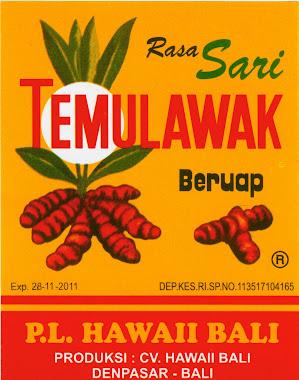 TEMULAWAK PL HAWAI B ALI