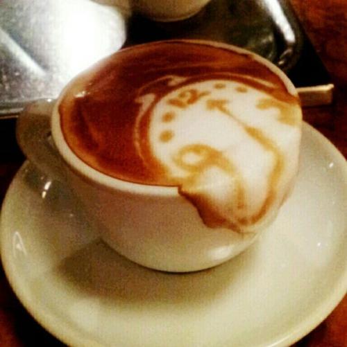 Latte art 3D por Kazuki Yamamoto