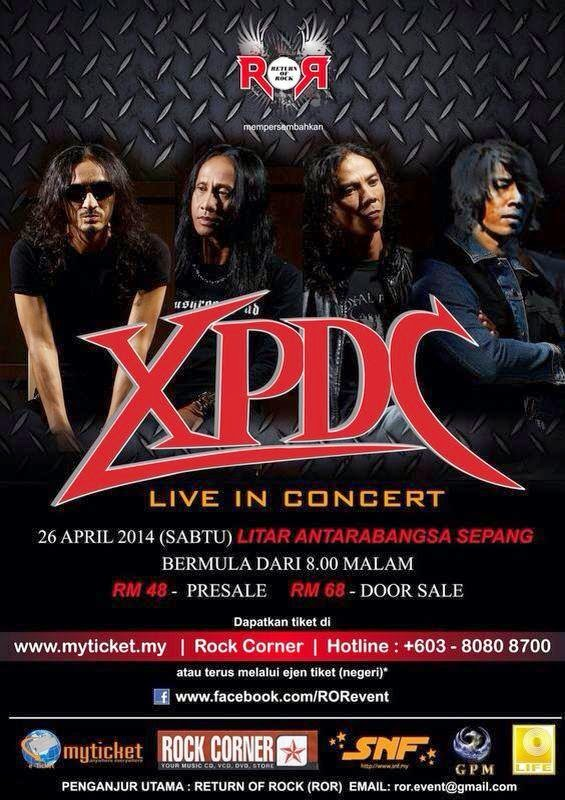 Return of Rock XPDC Live In Concert April 2014