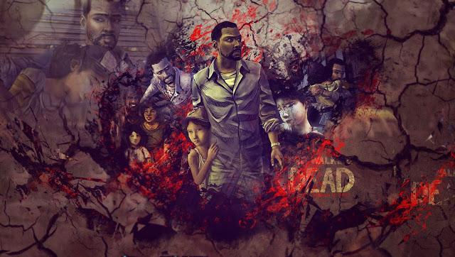 The Walking Dead  background
