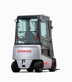 Nissan battery forklift