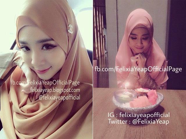 Felixia Mengucap 2 Kalimah Syahadah Di Masjid Taman Tun