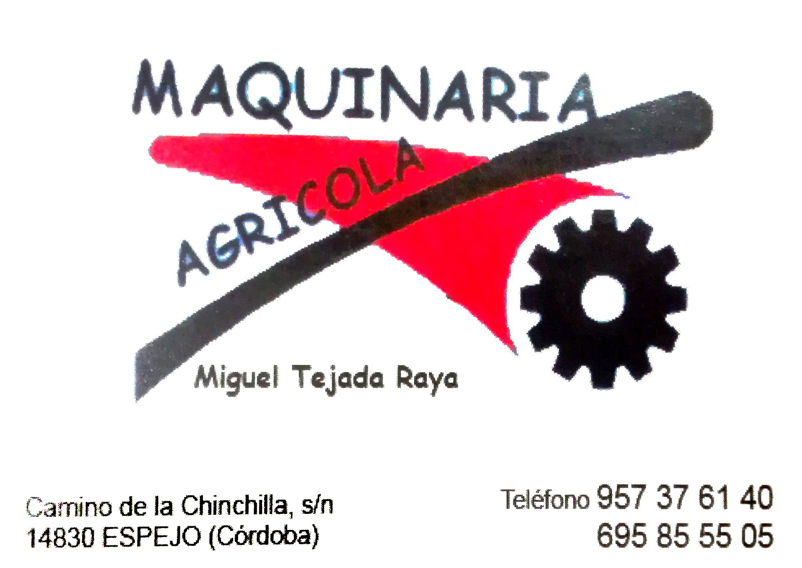 Maquinaria Miguel Tejada